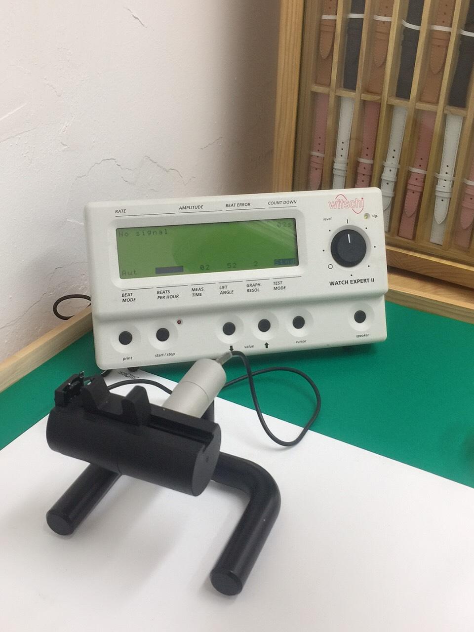 Máy đo nhanh chậm đồng hô cơ automatic Witschi