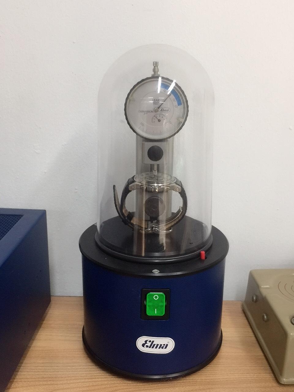 Máy thử nước đồng hồ đeo tay Elma Leak Controller 2000