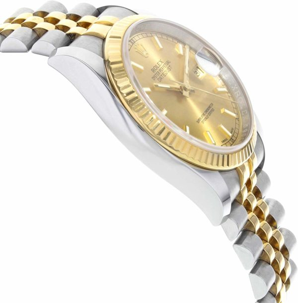Đồng hồ Rolex Automatic Datejust 116233 Stainless Steel & 18k Yellow Gold