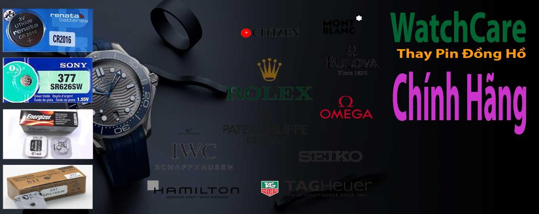 Thay pin đồng hồ đeo tay chính hãng