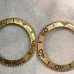 Đánh bóng vành vàng đặc đồng hồ rolex