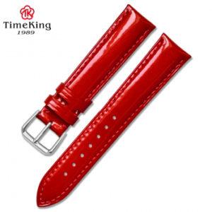 Dây da TimeKing 6003A đỏ