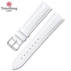 Dây da TimeKing 6003A trắng