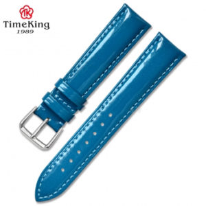 Dây da TimeKing 6003A xanh